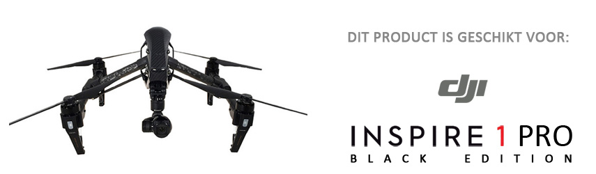 Compatible met DJI Inspire 1 Pro Black Edition