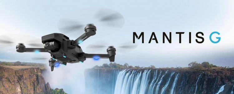 Yuneec presenteert Mantis G drone
