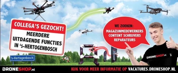 Droneshop.nl zoekt nieuwe collega's!