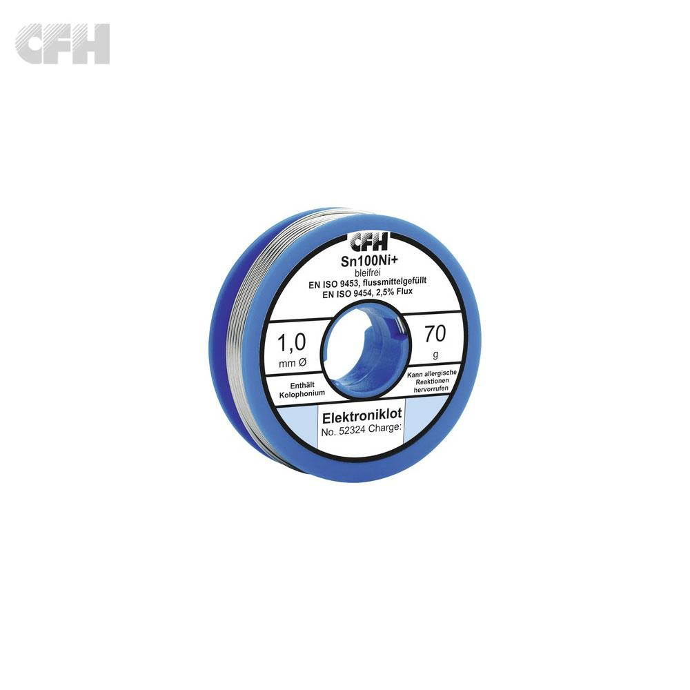 CFH Soldering Wire 1.0mm coil - 70g