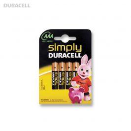 Duracell Simply AAA batterijen (4-pack)