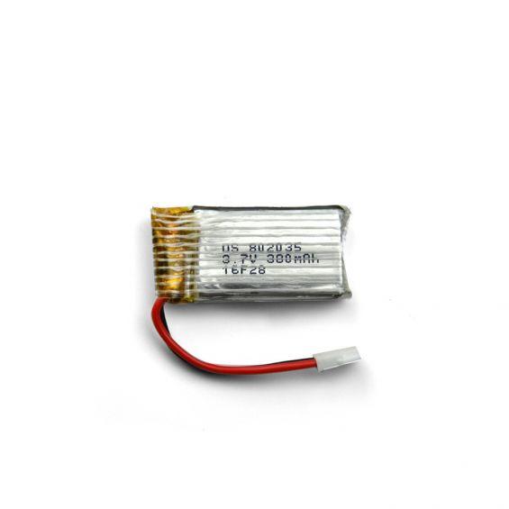 380mAh 3.7V 1S LiPo Accu