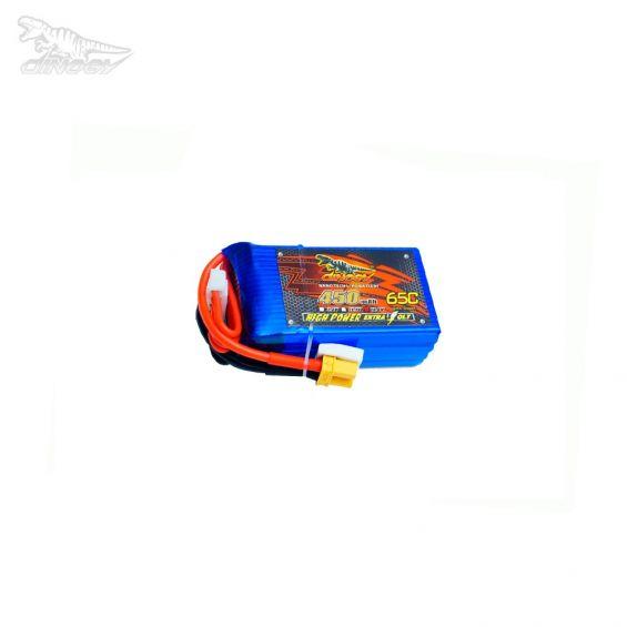 Dinogy 450mAh 14.8V 65C 4S LiPo Accu (XT30)