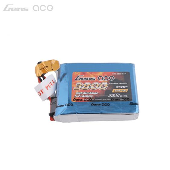 Gensace 3800mAh 7.4V LiPo Pack voor FrSky Taranis Q X7(s)