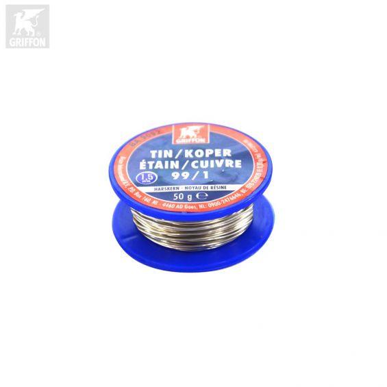Griffon Electro Soldeertin spoel 99/1 - 1,5mm