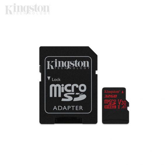 Kingston Canvas React MicroSD geheugenkaart - 32GB