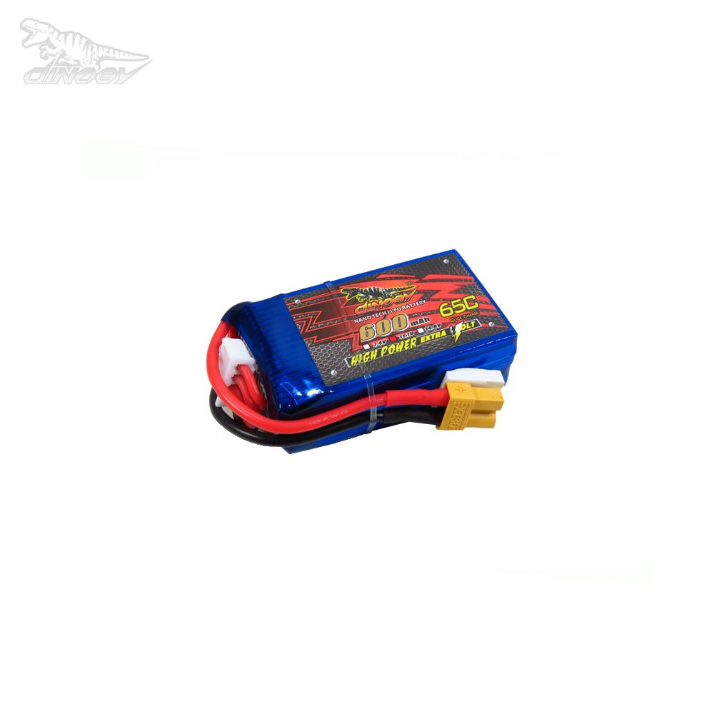 Dinogy 600mAh 14.8V 65C 4S LiPo Accu (XT30)