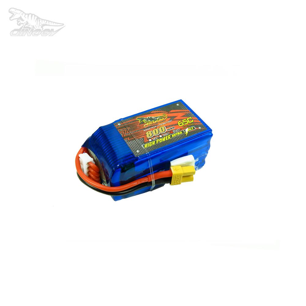 Dinogy 800mAh 14.8V 65C 4S LiPo Accu (XT60)