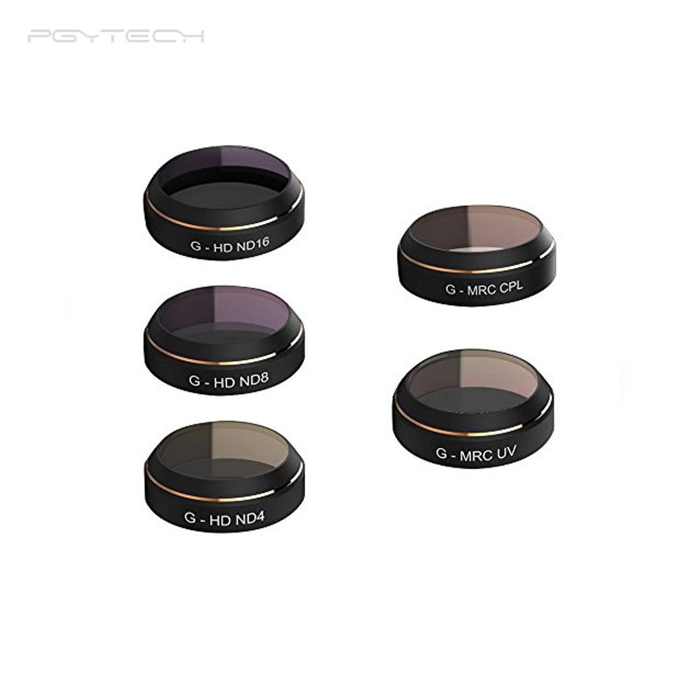 PGYTECH Filters (5-pack) voor DJI Mavic Pro