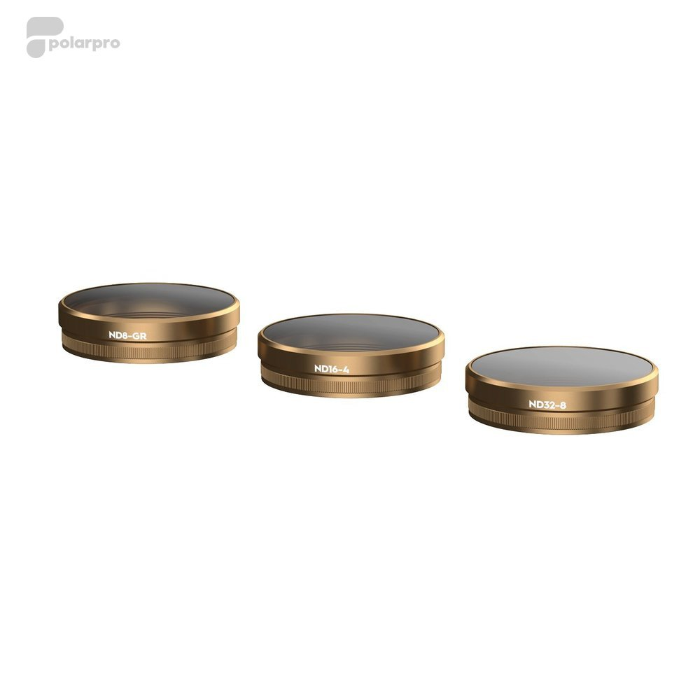 Polar Pro Cinema Series Gradient Collection ND Filters (3-pack) voor DJI Ph