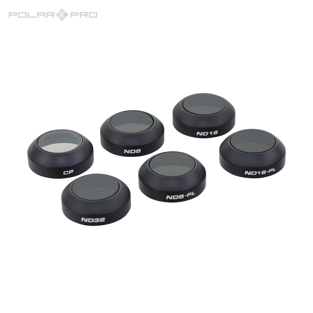 Polar Pro Filters (6-pack) voor DJI Mavic Pro