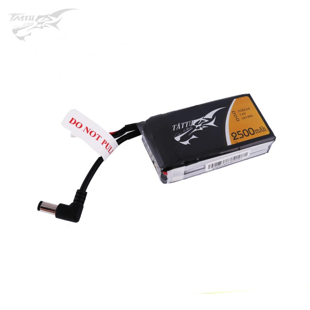 Tattu 2500mAh 2S 7.4V LiPo Accu voor Fatshark brillen