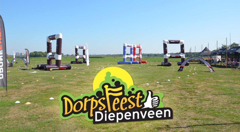 NK Droneracen 2019 tijdens Dorpsfeest Diepenveen