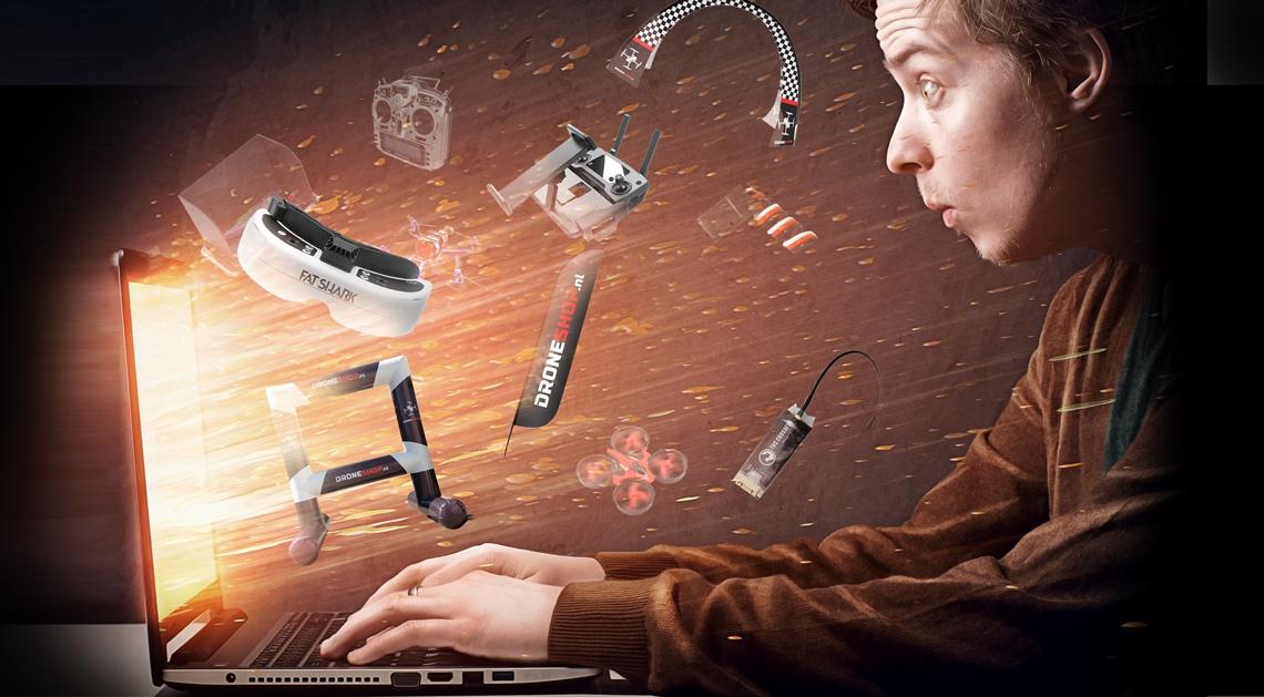 Nieuwe merken en producten op Droneshop.nl