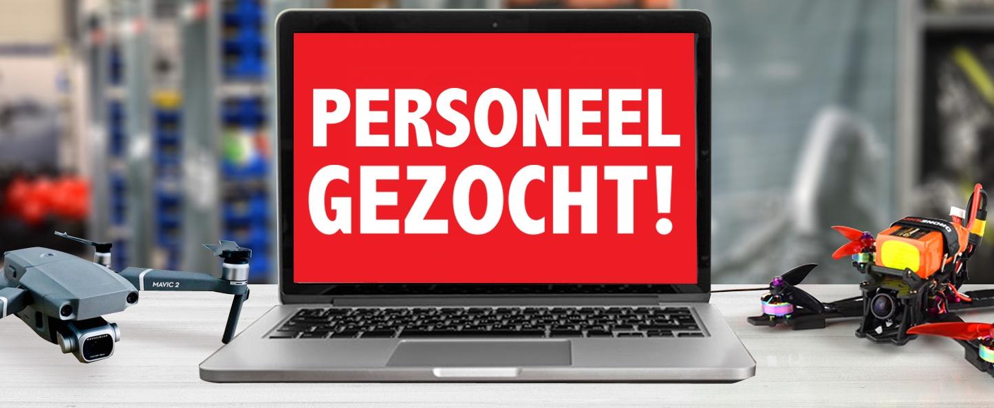 Droneshop.nl zoekt personeel