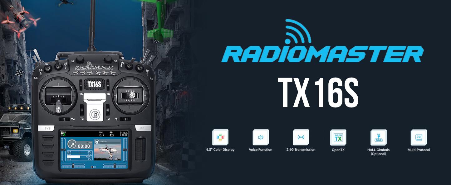 Reserveer nu de RadioMaster TX16s