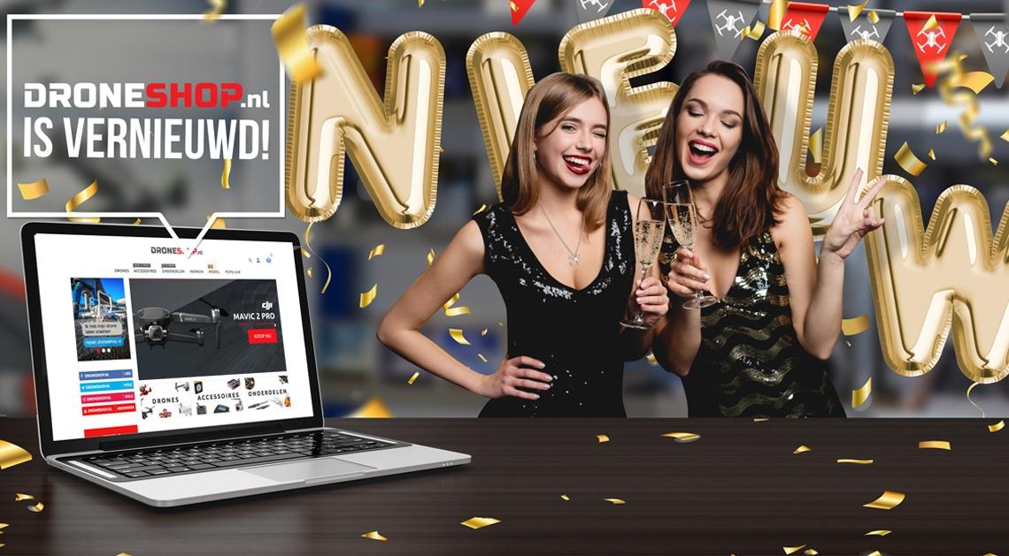 Droneshop.nl is vernieuwd!