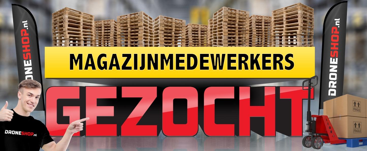 Droneshop.nl zoekt magazijnmedewerkers