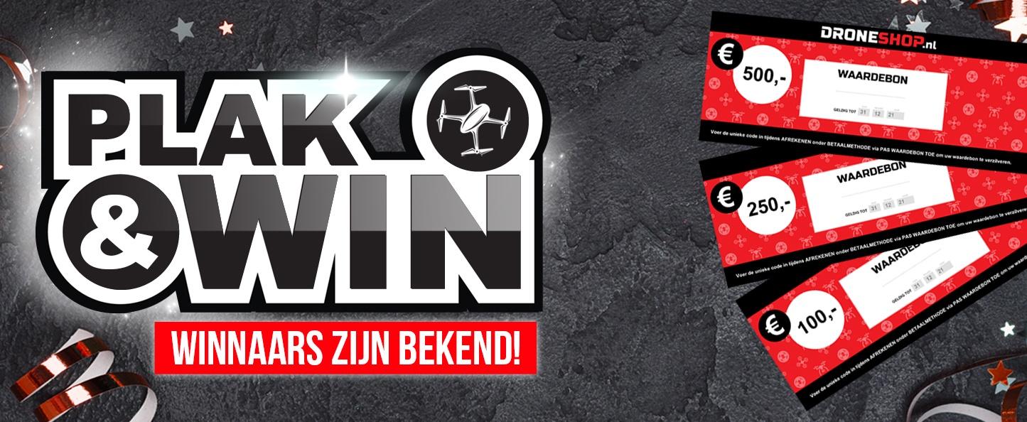 Winnaars Plak-en-Winactie bekend!