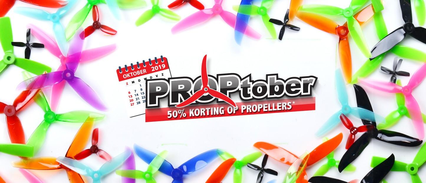 PROPtober: 50% korting op propellers