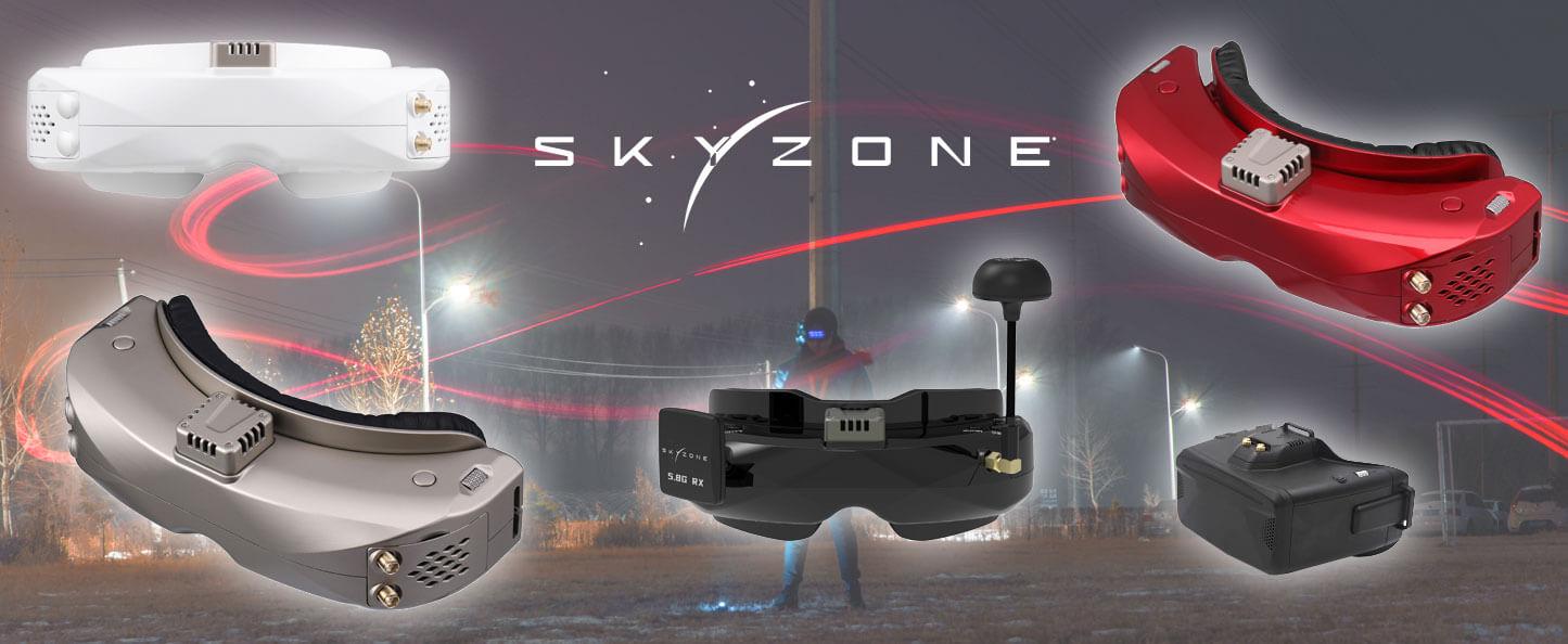 Skyzone FPV-brillen nu verkrijgbaar