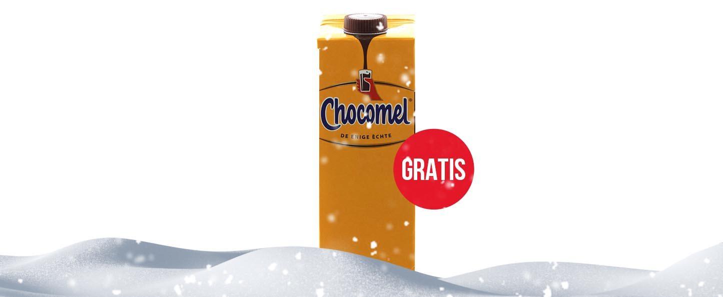Gratis 1 liter Chocomel