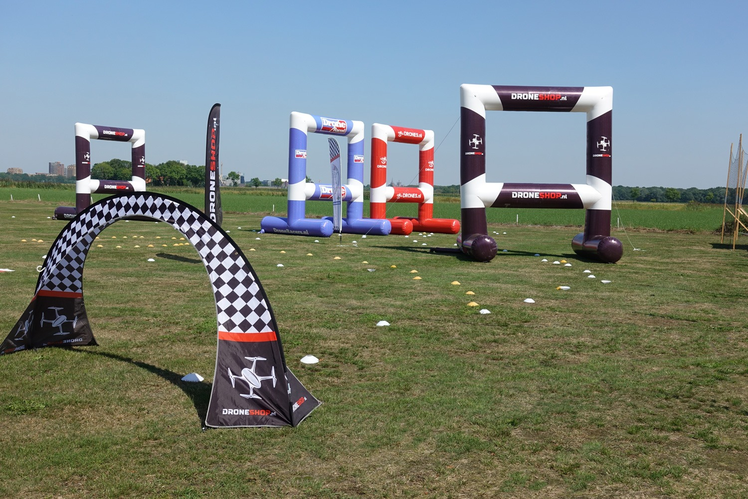 NK Drone Race 2019 bij The Hawks in Vught