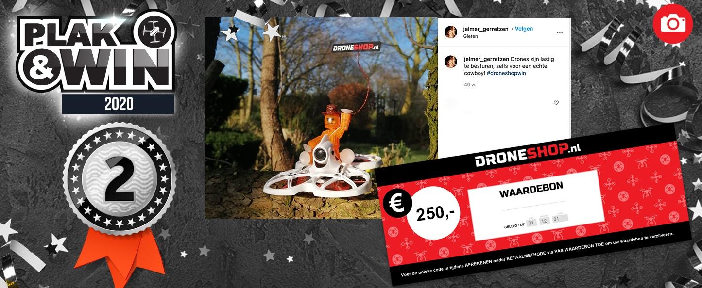 2e prijs: 250 euro shoptegoed